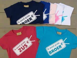 Shirtjes met Opdruk