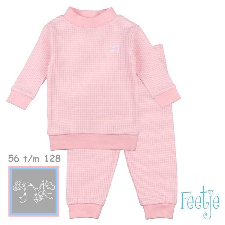 Feetje Pyjama wafel Zalm autumn special