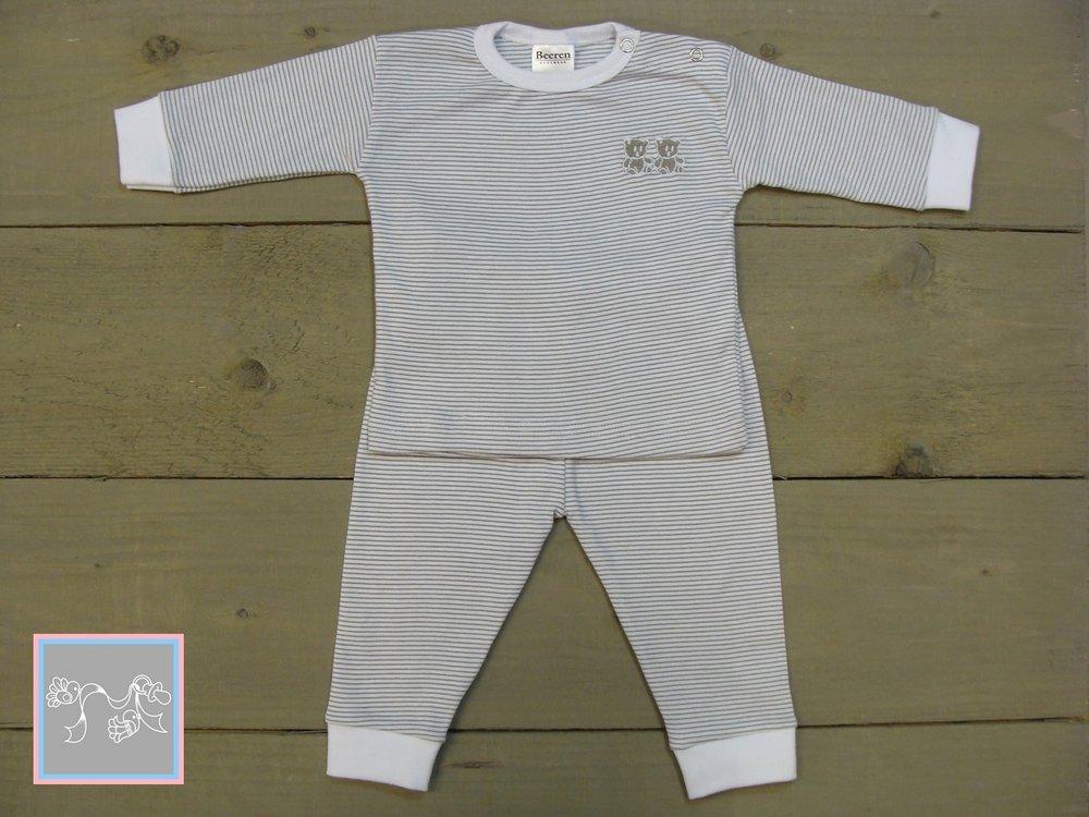 Beeren Baby Pyjama grijs