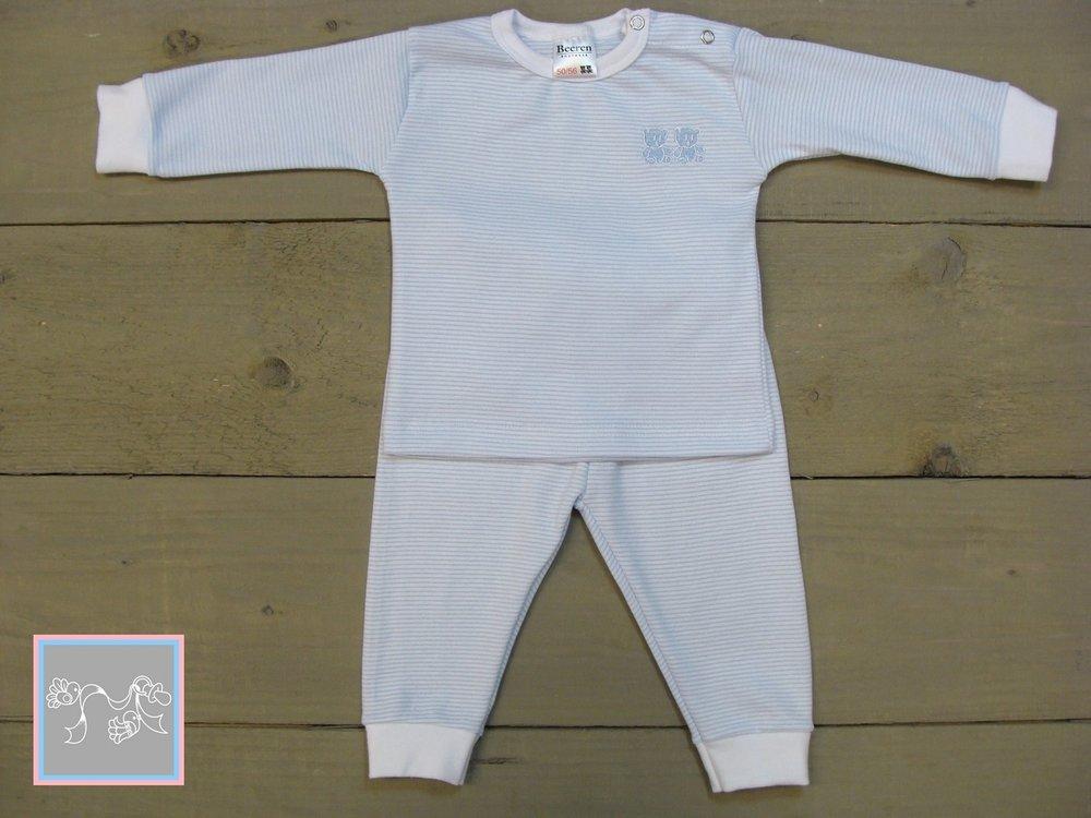 Beeren Baby Pyjama blauw
