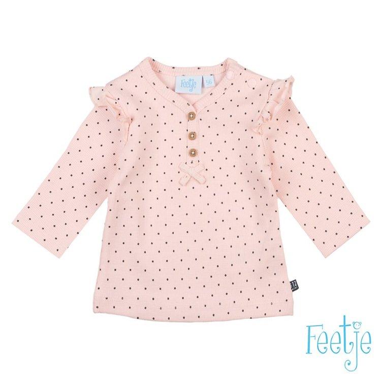 Feetje Dots Longsleeve AOP roze 516.01484