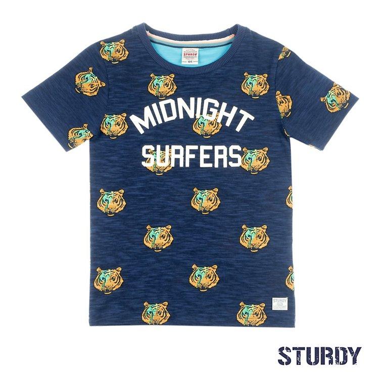 Sturdy T-shirt AOP / Midnight Sufers - Wild Wanderer 717.00295