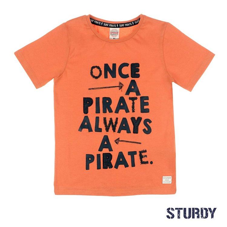 Sturdy T-shirt Once A Pirate - Treasure Hunter 717.00262
