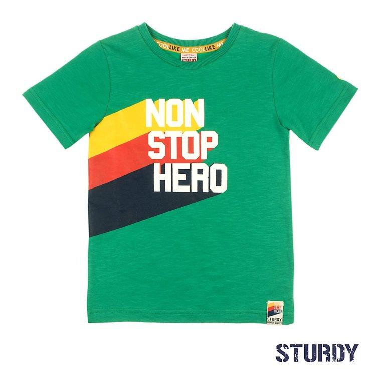 Sturdy T-shirt Non Stop Hero - Thrillseeker 717.00275