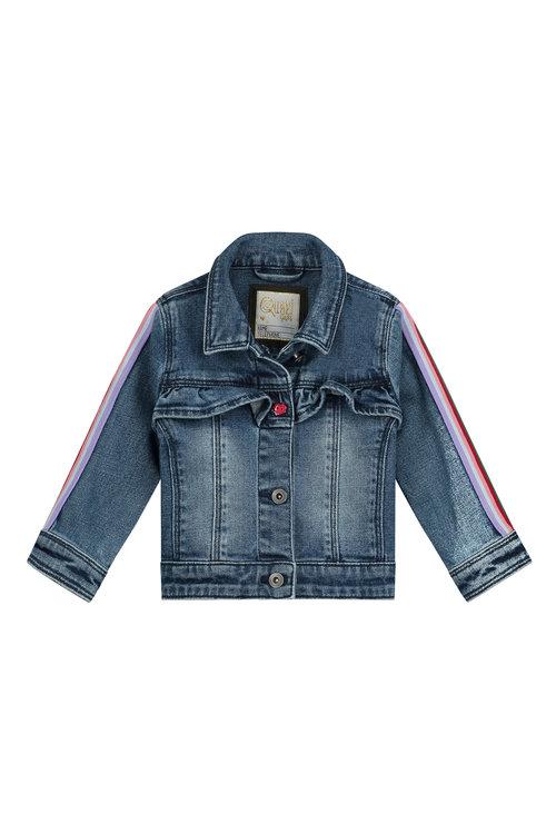 Quapi Jacket - BILLIE S201 BLUE DENIM Blue
