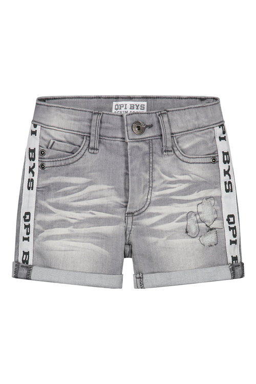 Quapi Jeans short - BRECHT S202 LIGHT GREY DENIM