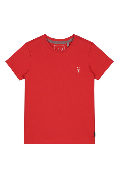 LEVV Shortsleeve -GEORGE S201 RED