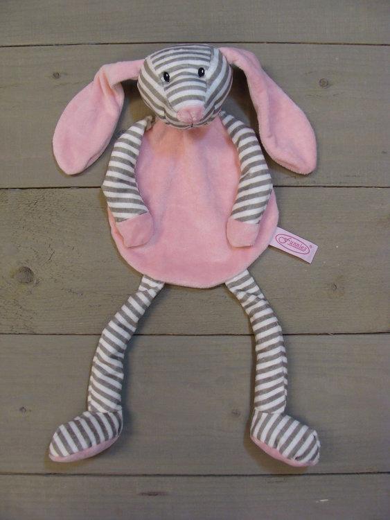 Tutpop Langoor roze gestreept