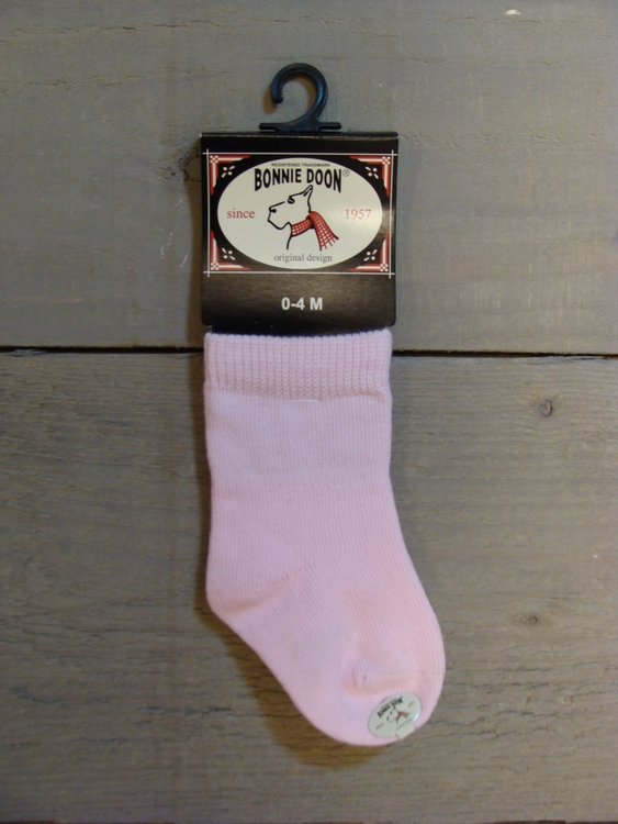Cotton Sock Baby Pink Panther Bonnie Doon