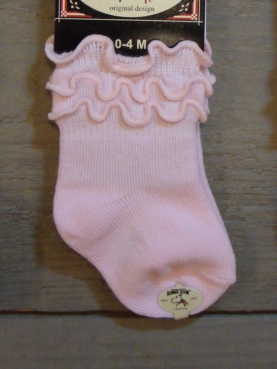 Frou-Frou Sock Baby Pink Panther Bonnie Doon