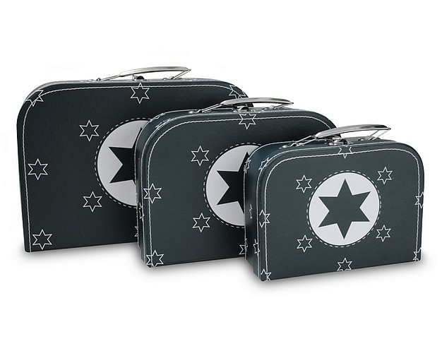 Koffertje Marine Blauw met witte ster