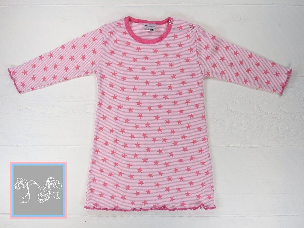 Beeren Baby Nachthemd Stripe-Star rose