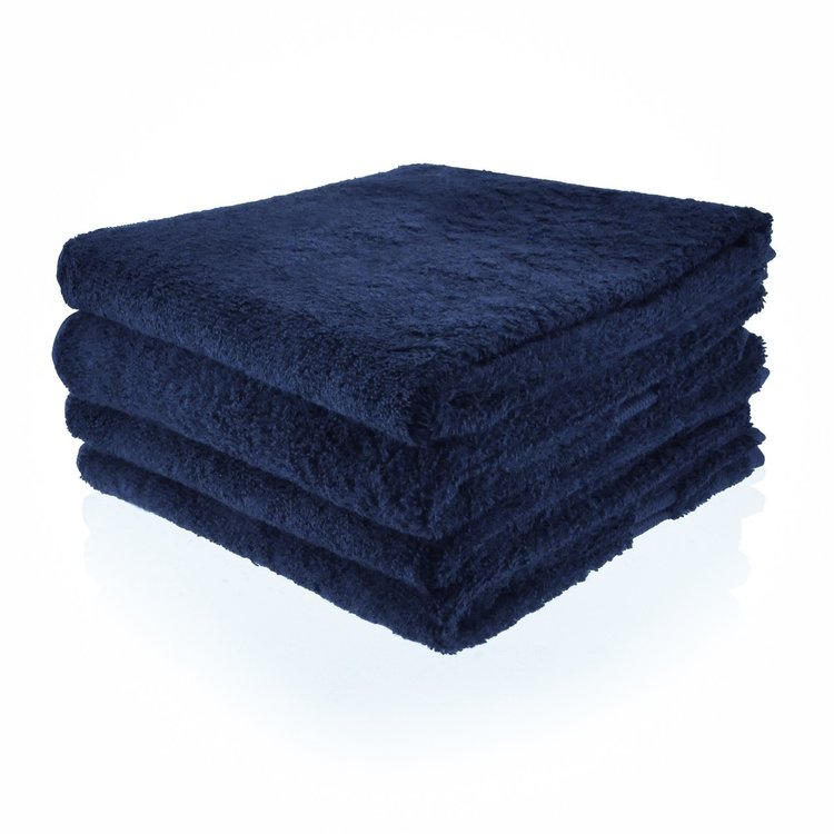 handdoek 04 marine blauw 70x140 cm