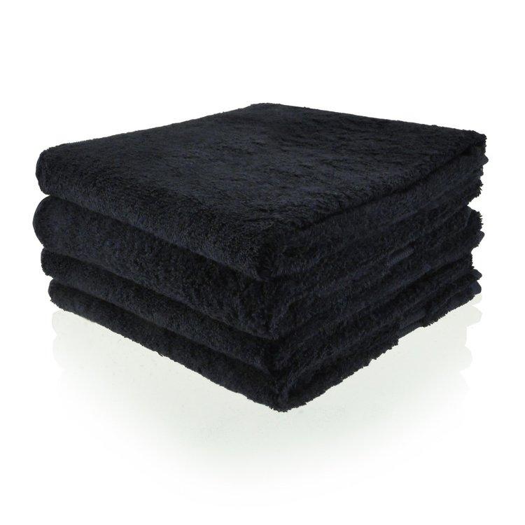 handdoek 06 zwart 50x100 cm