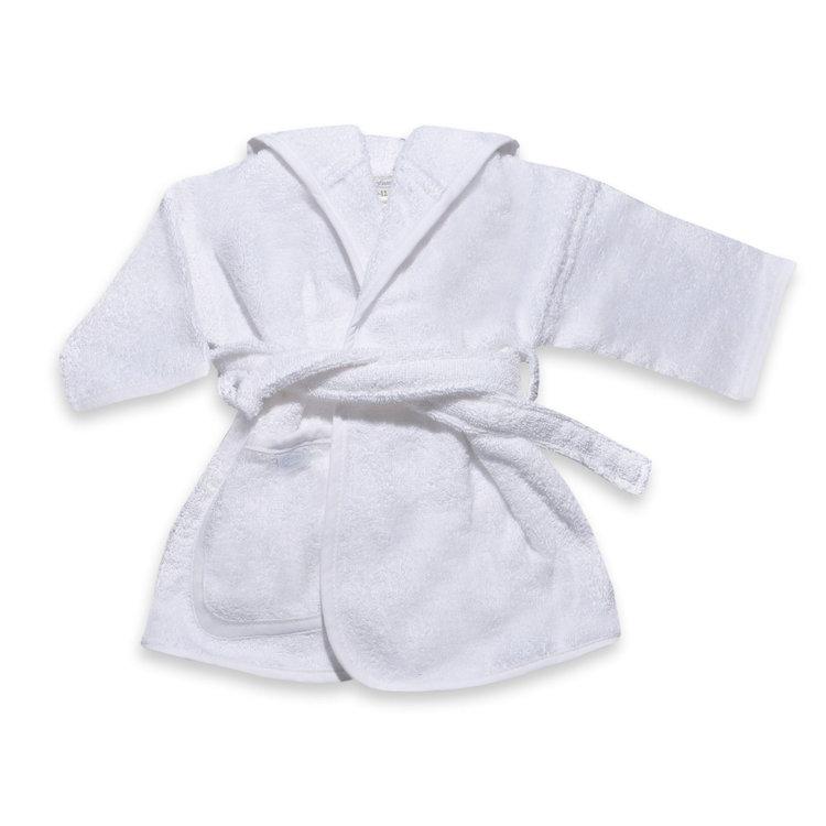 Badjas wit 1-2 jaar