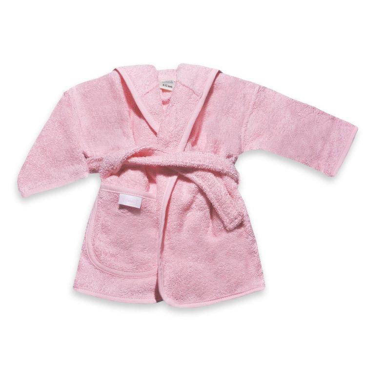 Badjas roze 1-2 jaar