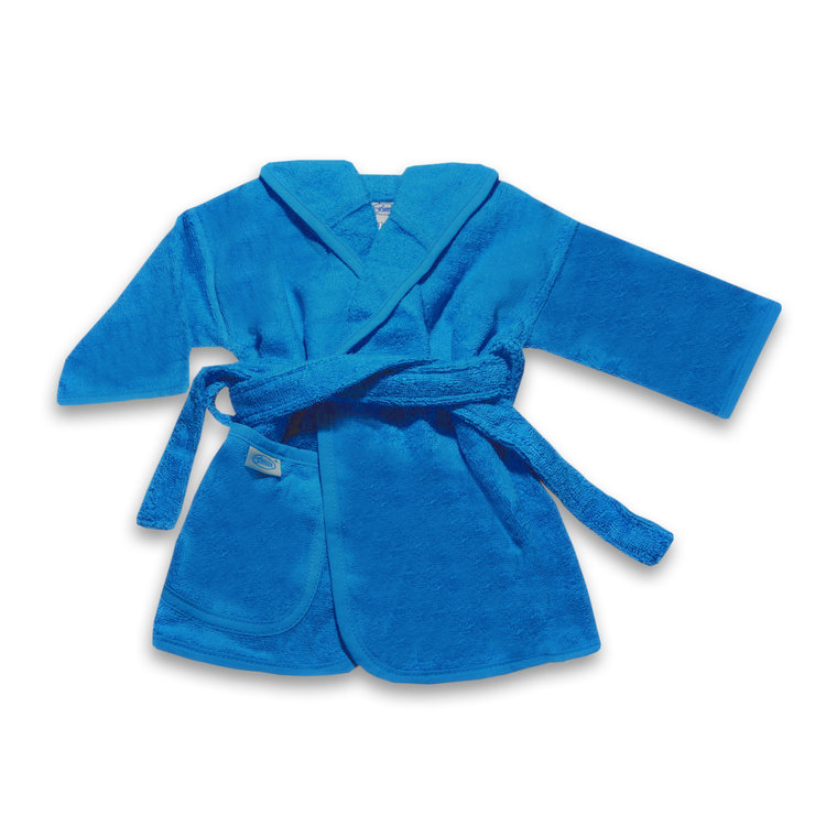 Badjas turquoise 2-4 jaar