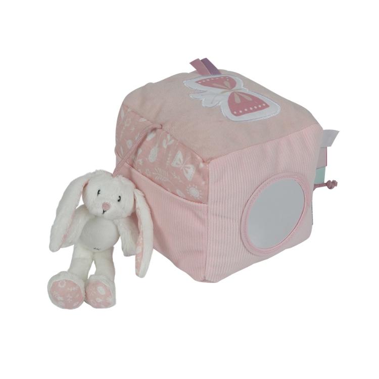 Little Dutch Kubus konijn adventure pink