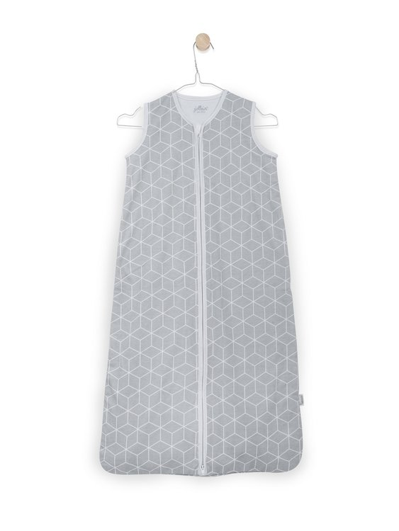 Slaapzak zomer jersey Graphic grey Jollein