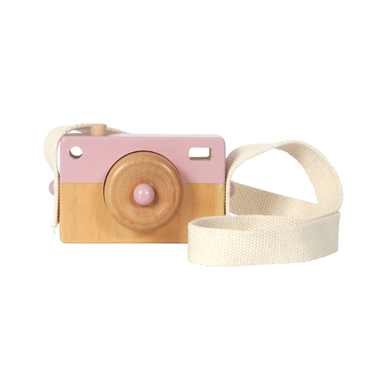 Little Dutch Camera hout adventure pink