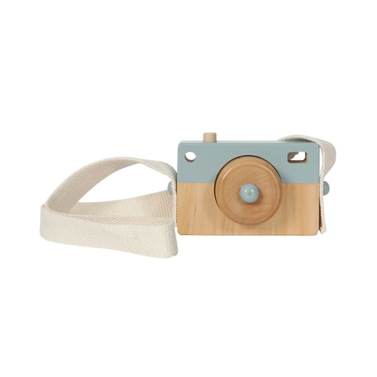 Little Dutch Camera hout adventure blue