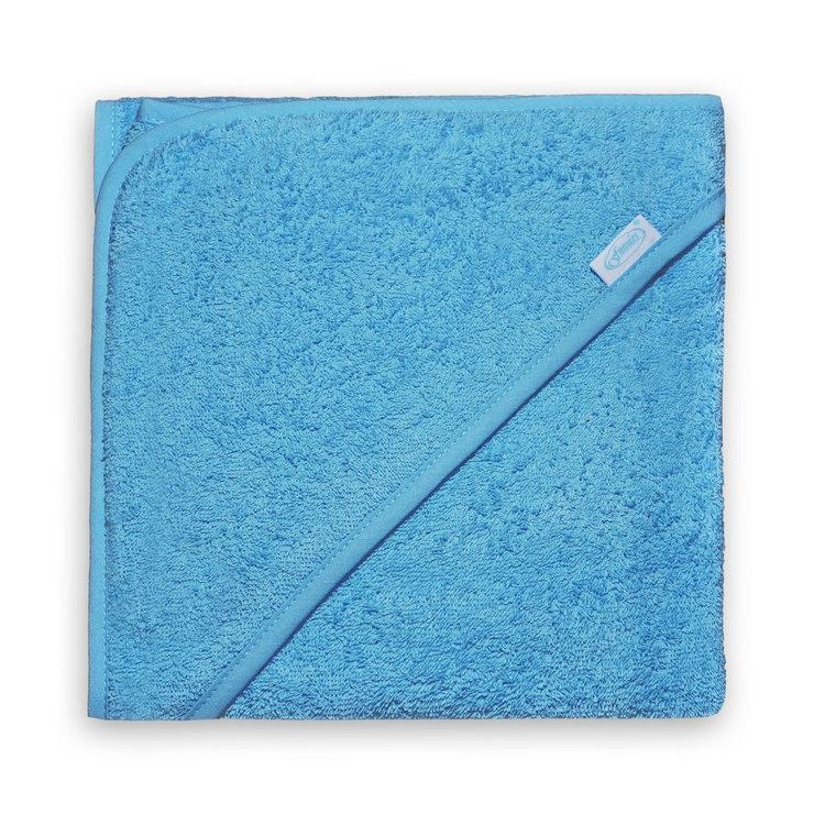 Badcape Licht blauw 100x100 cm