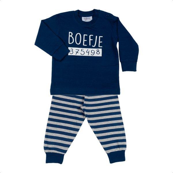Fun2wear baby pyjama Boefje blauw