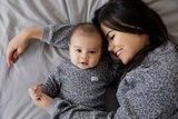 Feetje Pyjama wafel Antraciet Family Fashion Edition