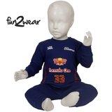 Fun2wear baby pyjama Formule 1 navy