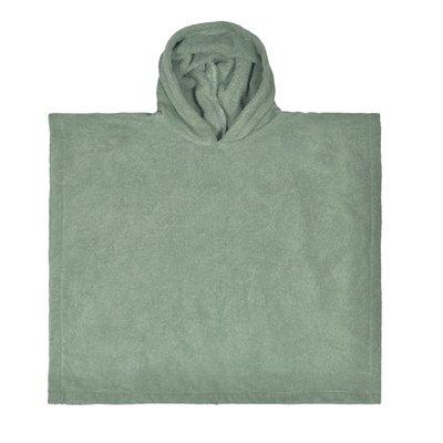 Poncho Stone green