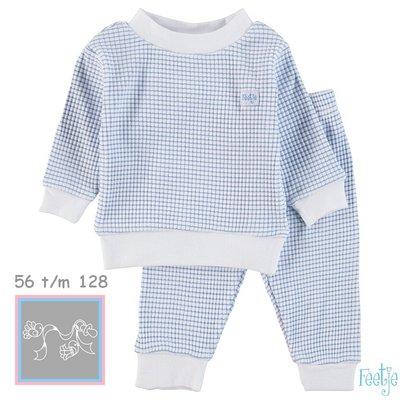 Feetje Pyjama wafel Blue