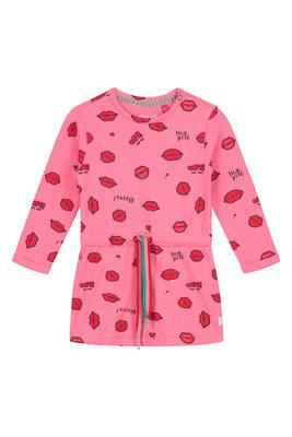 Quapi Dress - BARBARA S201 LEMONADE PINK LIPS