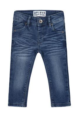 Quapi Jeans - BOUWE S201 GREY MELEE LETTER