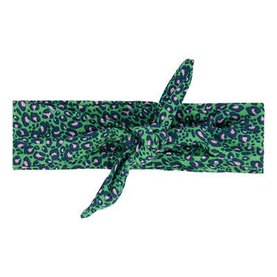 Quapi Headband - ATHILDA S203 JUNGLE GREEN LEOPARD