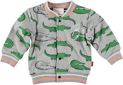 BESS Cardigan Reversible Crocodile 20038-002
