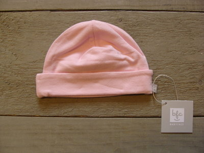 Mutsje roze maat 62-68