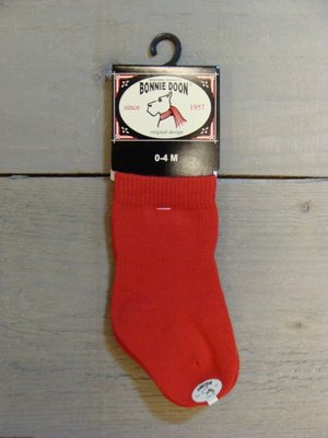 Cotton Sock Baby Strawberry Bonnie Doon