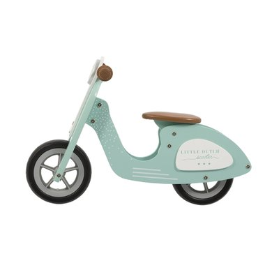 Little Dutch Scooter hout mint
