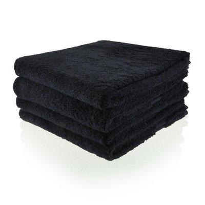 handdoek 06 zwart 70x140 cm