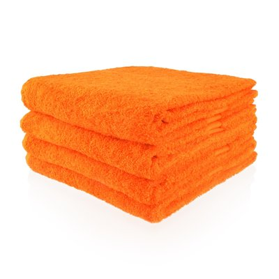 handdoek 12 oranje 50x100 cm