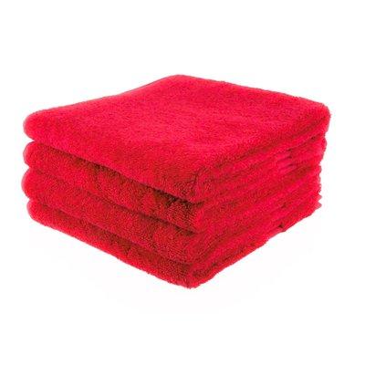 handdoek 13 rood 50x100 cm