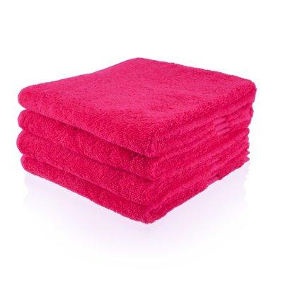 handdoek 14 fuchsia 50x100 cm