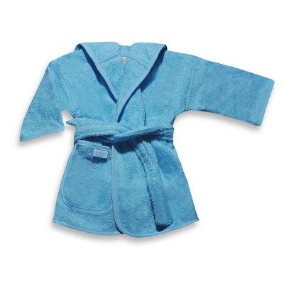 Badjas licht blauw 1-2 jaar