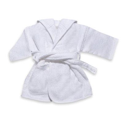 Badjas wit 2-4 jaar