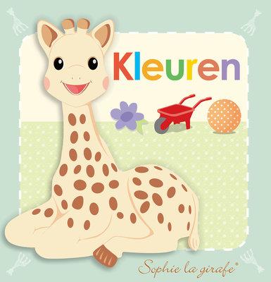 Sophie de giraf baby kartonboekje: kleuren