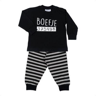 Fun2wear baby pyjama Boefje zwart