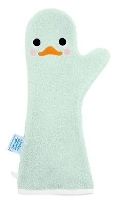 Baby shower Glove Little Swan groen