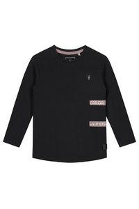 LEVV Longsleeve -GERRIT S201 BLACK