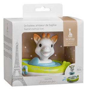 Sophie de giraf badbootje in witte geschenkdoos