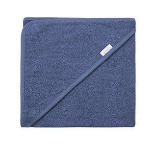 Badcape Silk blue 100x100 cm